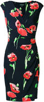 Ralph Lauren poppy print dress