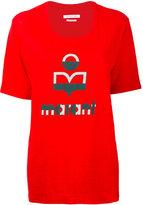 Etoile Isabel Marant printed T-shirt - women - Linen/Flax - XS