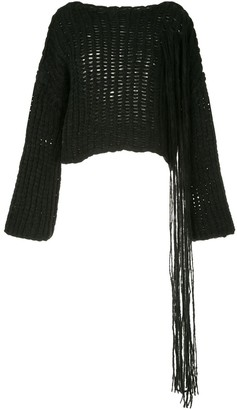 Isabel Benenato Chunky Knit Jumper