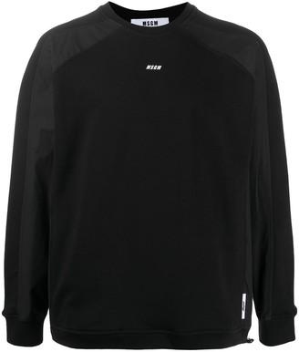 MSGM Raglan-Sleeved Sweatshirt