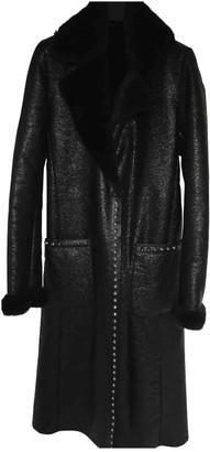N. Non Signé / Unsigned Non Signe / Unsigned \N Black Faux fur Coats