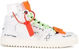 "Off-White Off White ""Off-Court"" 3.0 white suede hi-top sneakers"