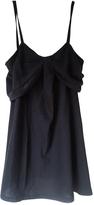 Christian Dior Black Silk Top