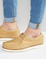 Grenson Owen Suede Mocassin Shoes
