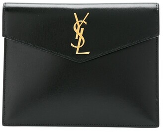 Saint Laurent baby Uptown envelope clutch