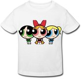 Stabe 2-6 Toddler Tee Age 2-6 Kids Toddler Powerpuff Girls Little Boy's Girl's T Shirts Size 4 Toddler
