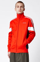 adidas Challenger Red & White Track Jacket