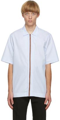 Paul Smith Artist Stripe Placket Short Sleeve Shirt