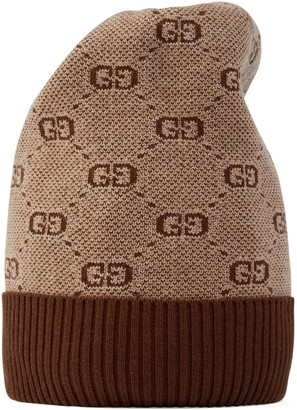 Gucci Children's GG wool cotton hat