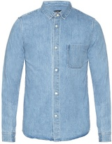 A.p.c. Patch-pocket Denim Shirt