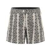 Chloé ChloeGirls Black & White Jacquard Shorts