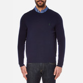Polo Ralph Lauren Long Sleeve Merino Knit Jumper Hunter Navy
