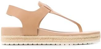 Vince Open Toe Flat Sandals