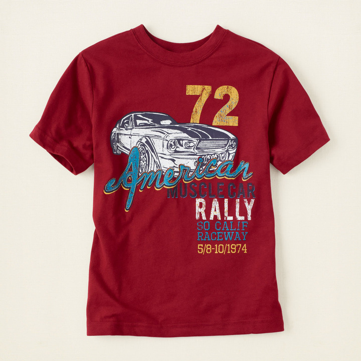Children's Place Car rally graphic tee
