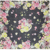 Erdem Notorious Dot printed wool scarf