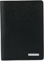HUGO BOSS passport holder - men - Calf Leather - One Size