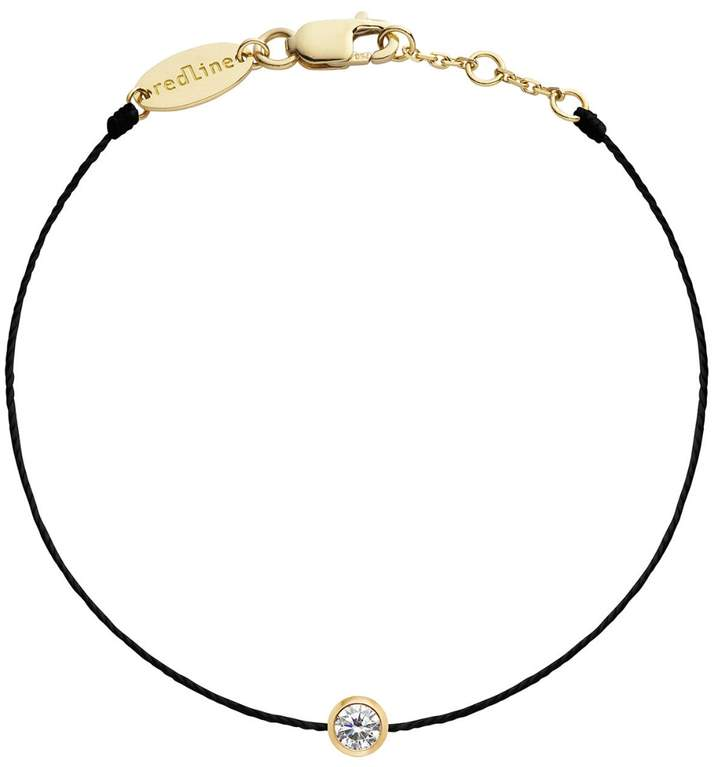 Redline Pure String Diamond Bracelet - Black