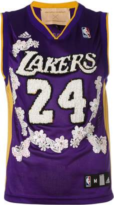 Night Market Lakers embroidered NBA tank