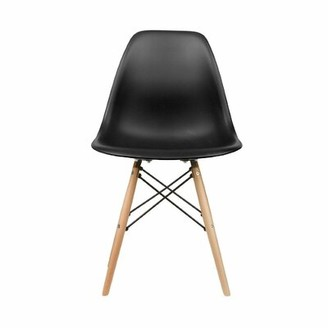 Bungalow Rose Cantara Side Chair Color: Black