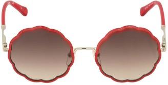 Chloé Metal Frame Sunglasses