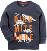 Carter's Dino-Mite Graphic-Print Shirt, Little Boys (5-8)