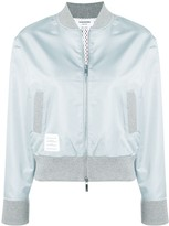 Thom Browne Center Back Ripstop Bomber