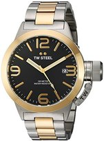 TW Steel Men's CB41 Analog Display Quartz Two Tone Watch