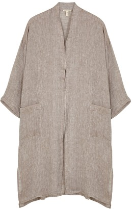 Eileen Fisher Light Brown Linen Jacket