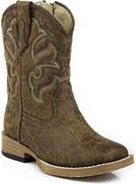 Roper Scout Square Toe Basic Cowboy Boot (Infant/Toddler/Little Kid/Big Kid)