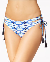MICHAEL Michael Kors Summer Breeze Side-Tie Cheeky Bikini Bottoms