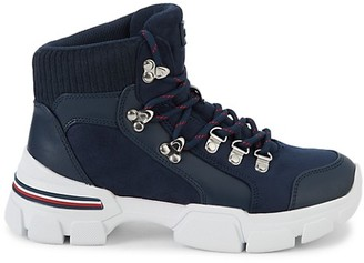 Tommy Hilfiger Logo Lace-Up Sneakers