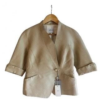 Armani Collezioni Gold Jacket for Women