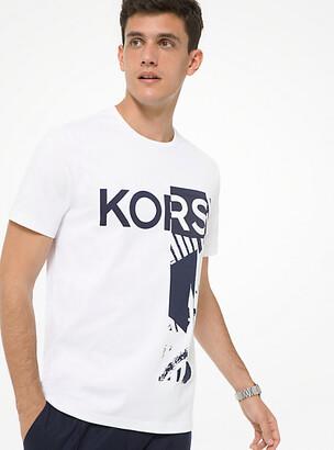 Michael Kors Graphic Logo Cotton T-Shirt