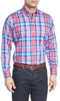 Tailorbyrd Redwood Plaid Sport Shirt