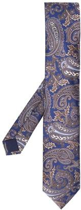 Corneliani Paisley-Print Pointed Tie