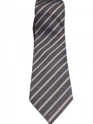 Louis Vuitton Grey Silk Ties