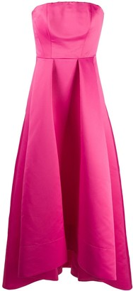 Pinko Sleeveless Flared Evening Dress