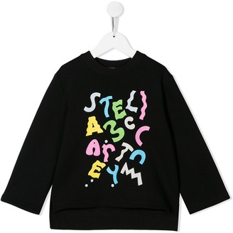 Stella McCartney Swiggle Logo Sweatshirt