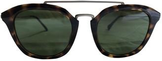 Calvin Klein Brown Plastic Sunglasses
