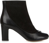 Tabitha Simmons Beatrix leather and suede ankle boots