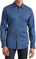 John Varvatos Geo Neat Print Slim Fit Button-Down Shirt