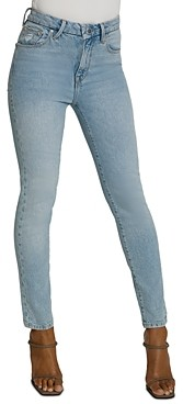 Good American Good Classic Skinny Jeans in Blue508