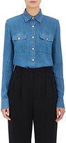 Balmain Women's Gauze Button-Front Blouse