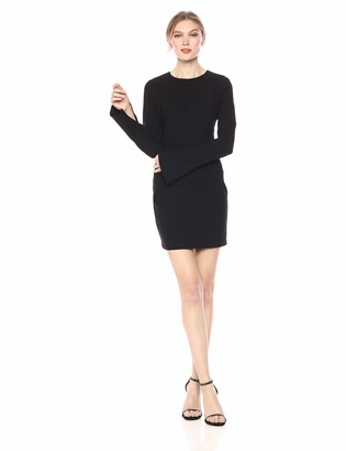 LIKELY Women's Long Sleeve Manhattan Mini Cocktail Dress