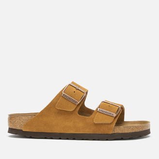Birkenstock Women's Arizona Sfb Suede Double Strap Sandals