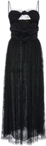 ADAM by Adam Lippes Silk Crepe Cami Dress With Knotted Bodice
