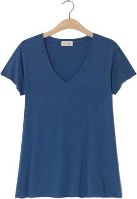 American Vintage Jacksonville V Neck Galaxy T Shirt - X Small