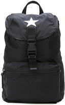 Givenchy star patch backpack - men - Calf Leather/Polyamide - One Size