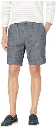 Nautica Chambray Shorts (Blue) Men's Shorts
