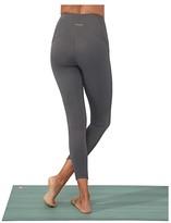 Manduka Presence 7/8 Pocket Legging (Black) Women's Casual Pants